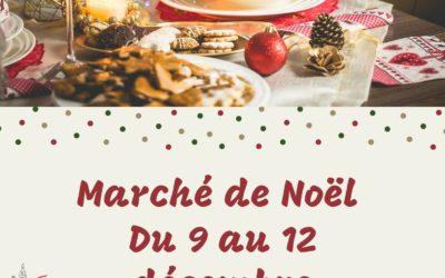 Marché de Noël du 9 au 12 décembre